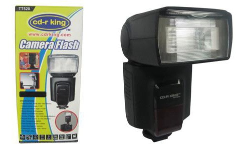 External Camera Flash from CDR-King