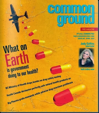 Common Ground April 2013 cover