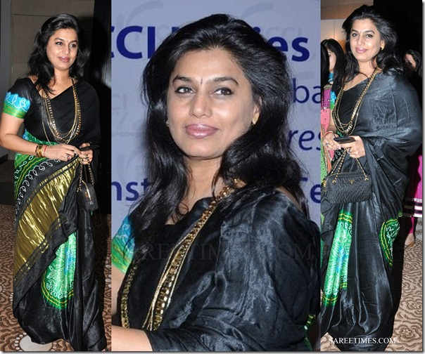 pinky_reddy_black_saree