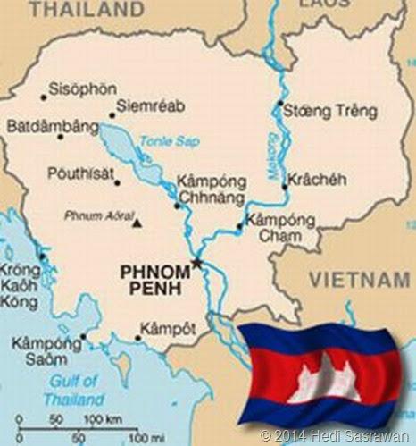 Asal Mula Nama Kamboja