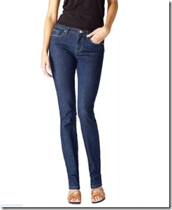 skinny jeans in matrix blue