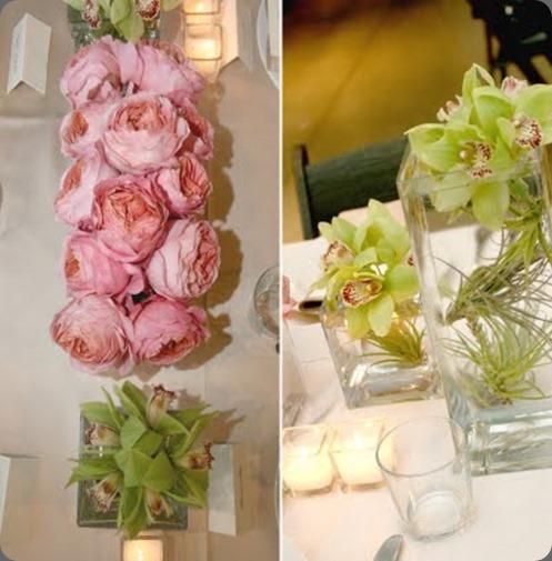 garden roses  arrangements floral desin