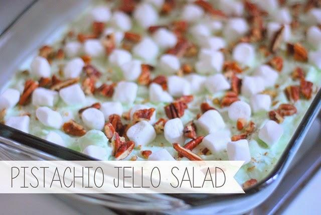 pistachio jello salad