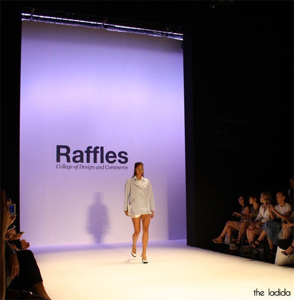 MBFWA Raffles International Showcase - Gabriel Lee - Samantha Harris