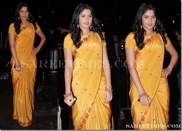 Deeksha_Seth_Yellow_Saree
