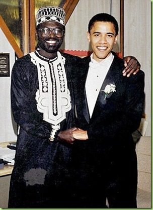barack and older brother Malik