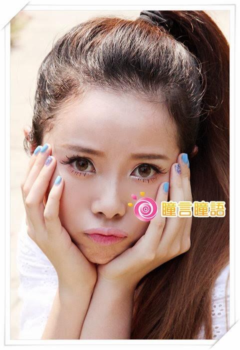 韓國NEO隱形眼鏡-天使三色蜜糖12