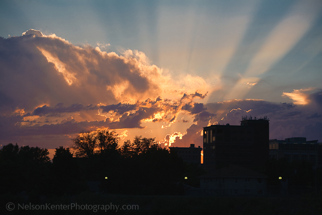 Missoula Sunset. Photo by Nelson Kenter. All Rights Reserved. Prints available at www.kenterphotography.com