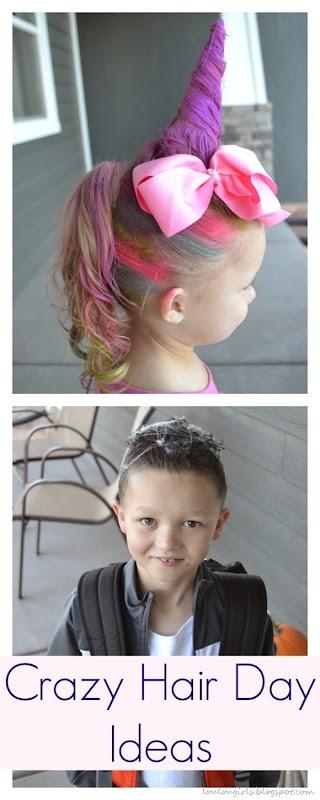 Crazy Hair Day Ideas! - Lou Lou Girls
