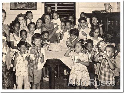 Aldo Russo cumpleaños Cristian