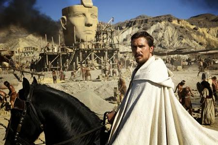Christian Bale in EXODUS GODS&KINGS