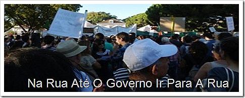 oclarinet. na rua ate o governo ir para a rua.Set.2012