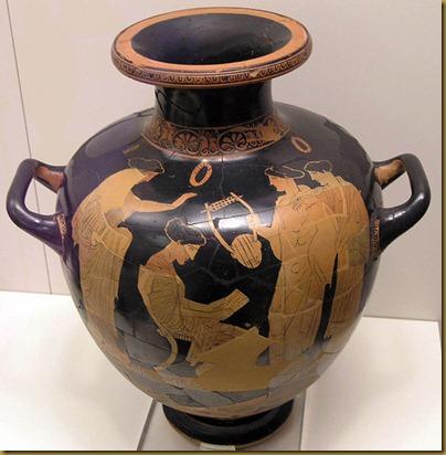sapfo attic vase 435 BC