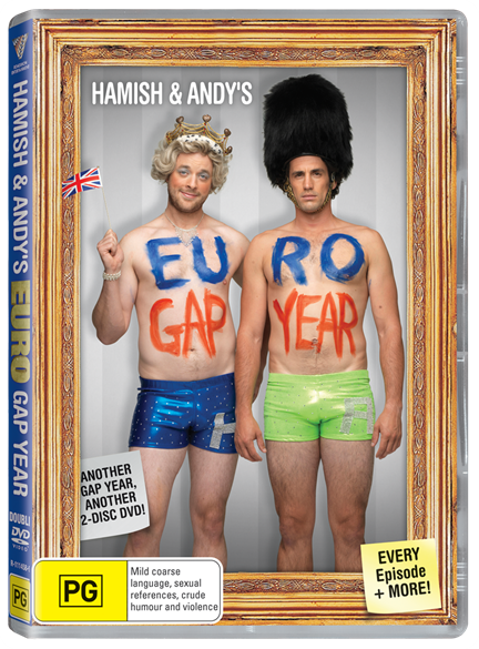 Hamish & Andy Euro Gap Year