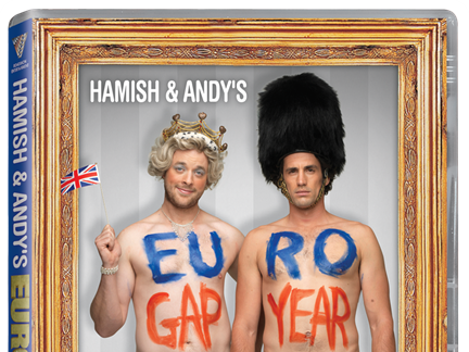 Hamish & Andy's EURO Gap Year {Giveaway Closed}