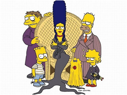 Familia Adams Simpson