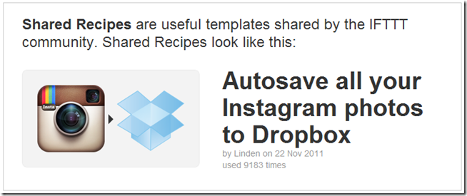 AutoSave Instagram Pictures to DropBox