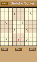 Screenshot of Sudoku solver & Sudoku