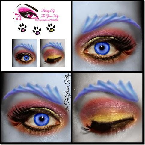 Sirena Von Boo Glam Collage