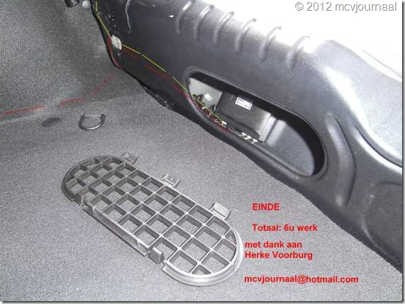 Sandero parkeersensoren inbouwen 31