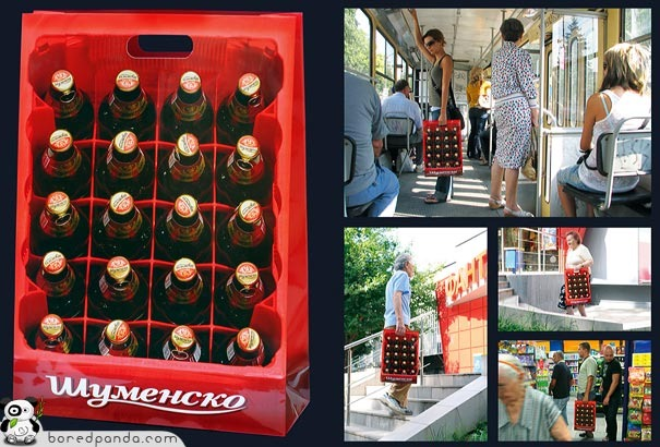 Beg plastik botol