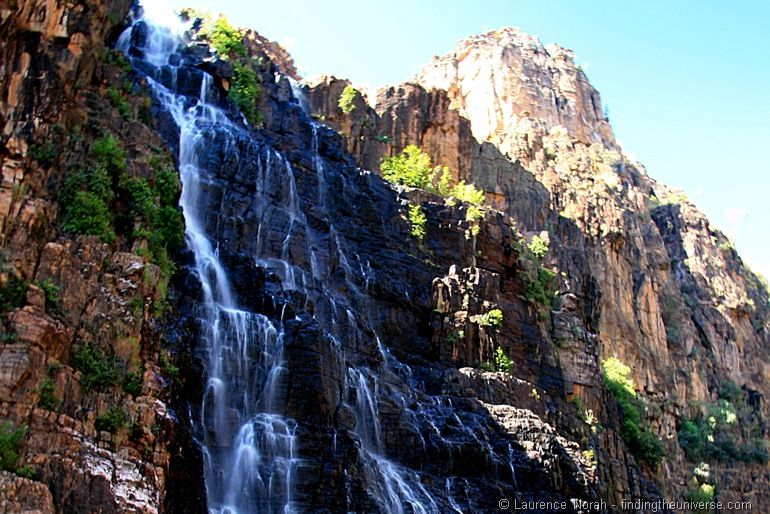 Waterfall - Twin Falls in Kakadu National Park