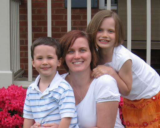 Shelley, Eli and Natalie on Mother's Day 2008