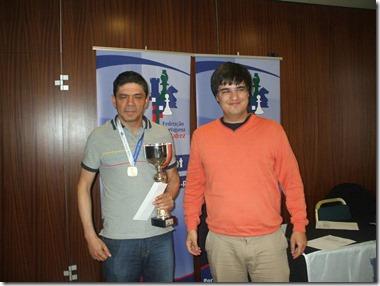 Rui Dâmaso com trofeu T.Mestres