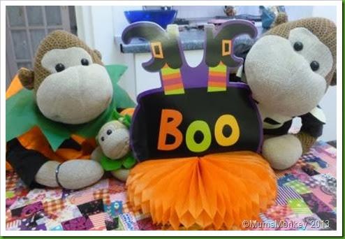 Halloween Table Centrepiece