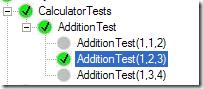 NUnit Parameterized Tests