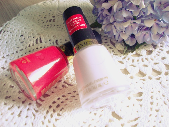 Revlon new shades red and charming