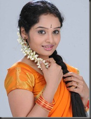 Advaitha in Half Saree Stills
