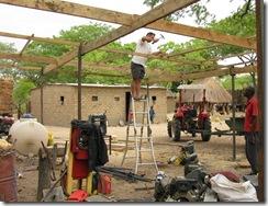 Jako building roof