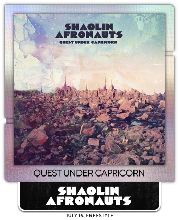 Quest Under Capricorn by Shaolin Afronauts