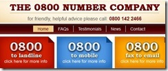 0800 Number Co