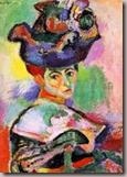 La femme au chapeau, Henri Matisse, 1905 (MoMA San Francisco)