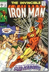 P00125 - El Invencible Iron Man #25