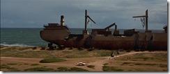 Godzilla 1998 Cannery Ship Wreck