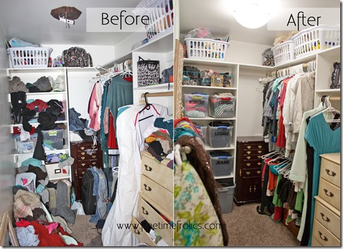 closet make over split