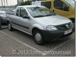 Dacia Logan Pick Up in Belgie 01