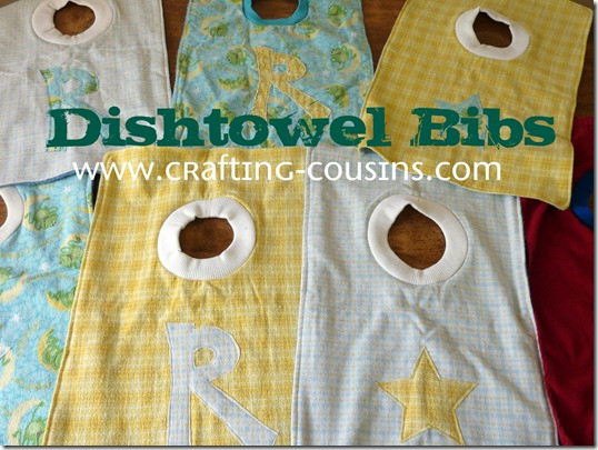 dishtowel bib text