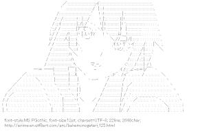 [AA]Senjogahara Hitagi (Bakemonogatari)