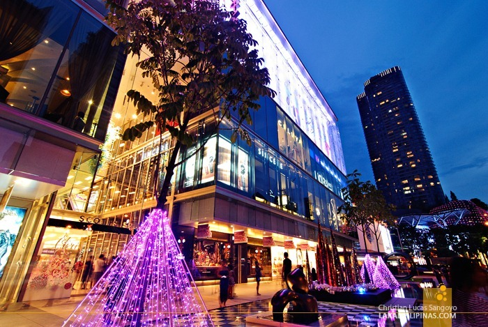 Early Evening at Singapore's Orchard Road
