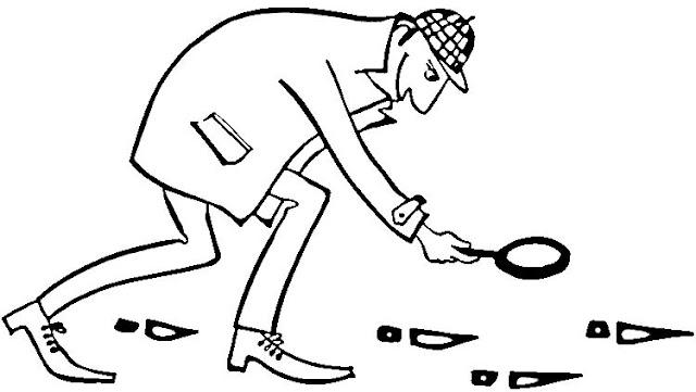 Dibujos de detectives para colorear - Dessin de sherlock holmes ...