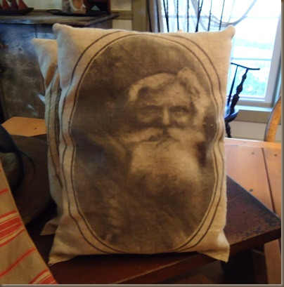 Olde World Santa Pillows