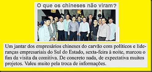 JM-chineses do carvao