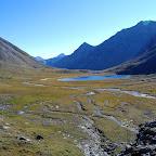 озеро в долине Шумак - Гол
