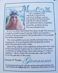 Cape Cod Columbus weekend 2012..apple festival giovanna mermaid crowns brochure