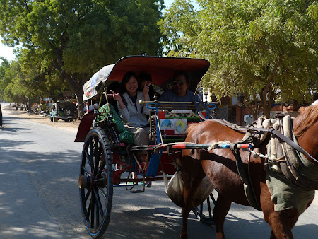 Caruta in Bagan