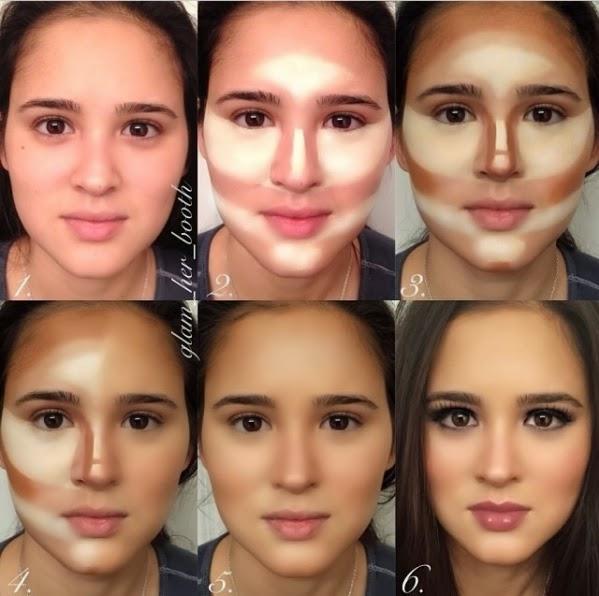 minitutorial paso a paso como maquillarse